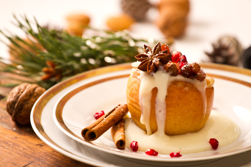Bratapfel-Weihnachtsrezept aus dem Ofenstudio