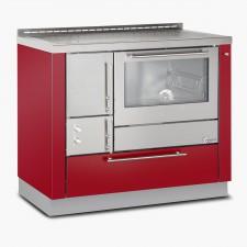 Cucina-a-legna-OP100-inox-bordeaux